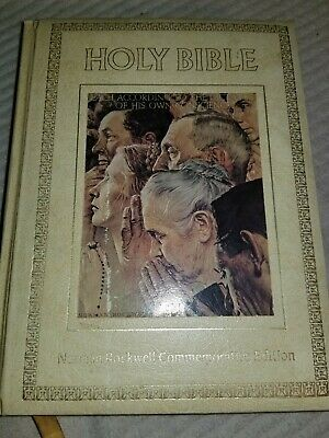 $ CDN9.10 • Buy Holy Bible - KJV - Norman Rockwell Commemorative Edition