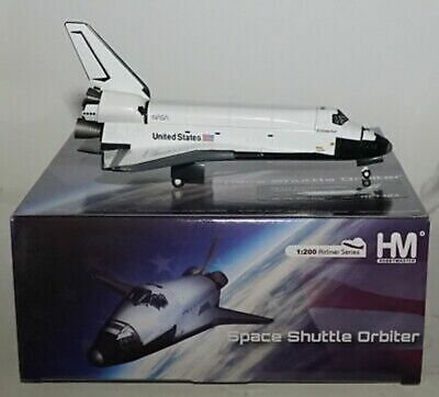 HOBBY MASTER 1404 SPACE SHUTTLE ENDEAVOUR 1405 DISCOVERY USA  1998 1:200th • 59.45£