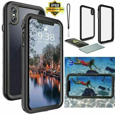 AU34.99 • Buy  Waterproof Case For IPhone 11 Cover Pro Max X XS XR 6 6s 7 8 Plus Shock Dust