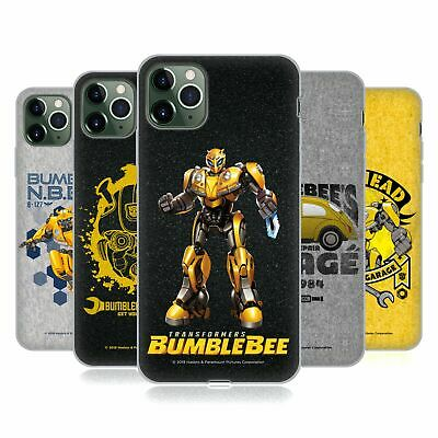 £14.95 • Buy OFFICIAL TRANSFORMERS BUMBLEBEE MOVIE GRAPHICS GEL CASE FOR APPLE IPHONE PHONES