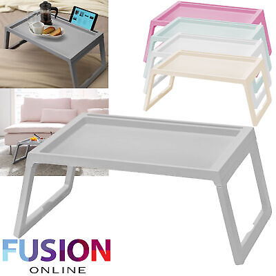 Laptop Lap Tray Portable Folding Desk Computer Table Sofa Notebook Breakfast Bed • 10.99£