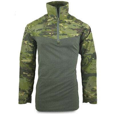 Bulldog MK4 UBACS Military Army Airsoft Tactical Combat Shirt MTC Tropical Camo • 31.40£