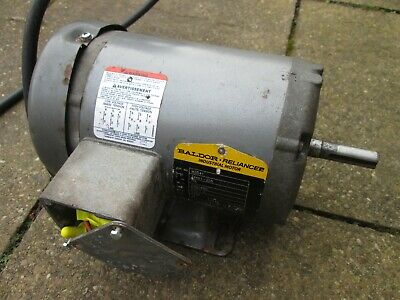 Baldor Reliance Industrial 3 Phase Electric Motor, Used. • 75£