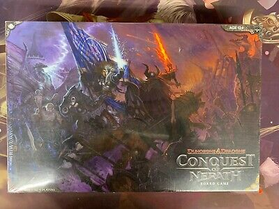 AU163.10 • Buy New Sealed Dungeons & Dragons Conquest Of Nerath Board Game