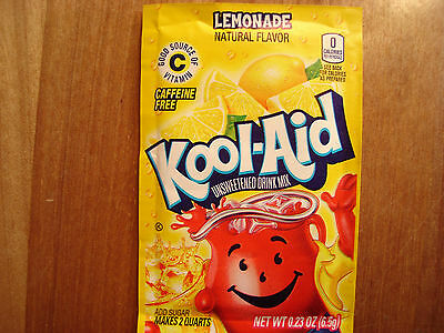 12 Kool Aid Drink Mix LEMONADE Combined Shipping Popsicle Flavor Party Fun • 3.82£