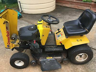AU3500 • Buy Greenfield Ride-on Mower Fastcut 34  21hp B&S (pre-Cox Takeover)