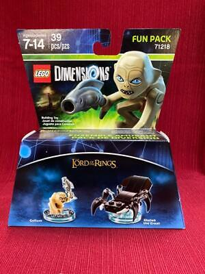 LEGO DIMENSIONS LORD OF THE RINGS GOLLUM FUN PACK #71218 NEW In Box SEALED • 18.86£