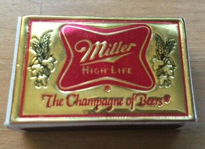 $24.99 • Buy Miller High Life Beer Matchbox Collectible Match Box Made In Sweden