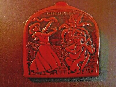 $5 • Buy Vintage Colombian Leather Coin Holder/Change Purse