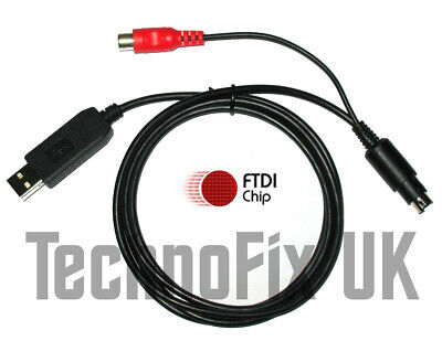 FTDI USB Cat & Programming Cable With Linear PTT Out Yaesu FT-817 FT-857 FT-897  • 27.99£