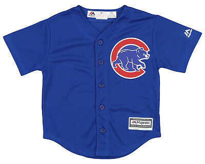 $24.99 • Buy Majestic MLB Kids (4-7) Chicago Cubs Home Jersey Team