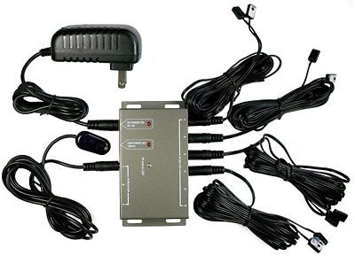 £15.58 • Buy Hidden IR Infrared Remote Control Repeater Extender 8Emitter Receiver System Kit
