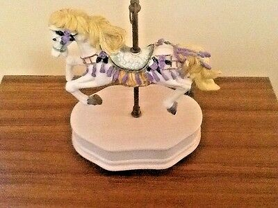 $16 • Buy Carousel Horse Music Box - Plays Waltz Of The Flowers