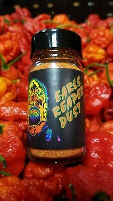 $8 • Buy Earl's Pepper Powders! Reaper, Ghost, Smoked Ghost, And Others - 2 Oz. Glass Jar