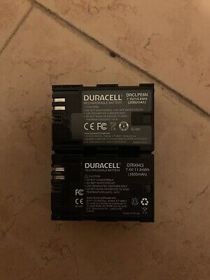 Lp-e6n And Lp-e6 Batteries For Canon Cameras • 43.09£