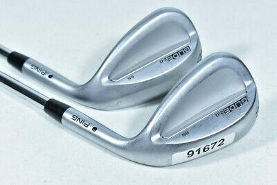 $118.99 • Buy Ping Glide 2.0 SS 56*-12, 60*-10 Wedge Set Right AWT 2.0 Steel # 91672