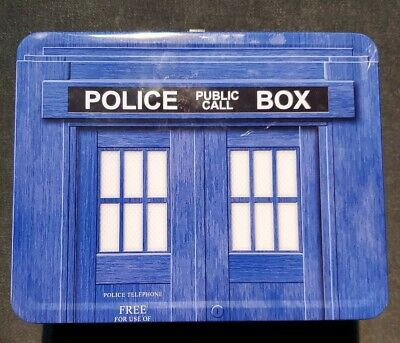 £7.16 • Buy 1996 BBC Doctor Who Phone Booth Tin Lunch Box