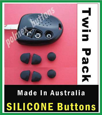 AU20 • Buy Will Suit Holden Commodore VX VZ WH WK WL Remote - Silicone Key BUTTONS (2sets)