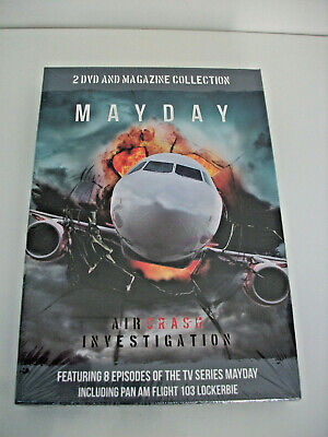 £15 • Buy Mayday Air Crash Investigation 2 DVD And Magazine Collection Series 7