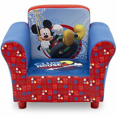 $117.97 • Buy Mickey Mouse Kids Chair Upholstered Toddler Furniture Child Play Seat Bedroom