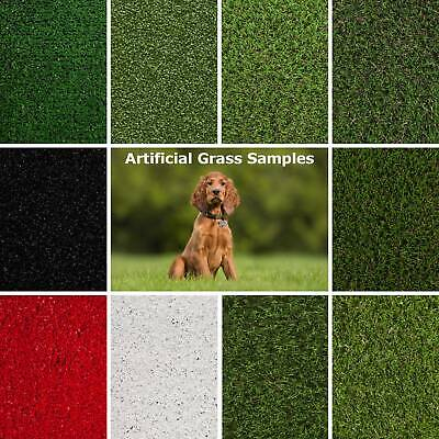 £0.99 • Buy Artificial Grass Samples 2m 4m 5m Fake Grass Cheap Budget Astro Turf 30mm 40mm