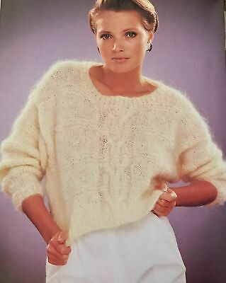 F Knitting Pattern - Crop Top Or Standard Top / Jumper - Size Options, 34-38  • 1.69£