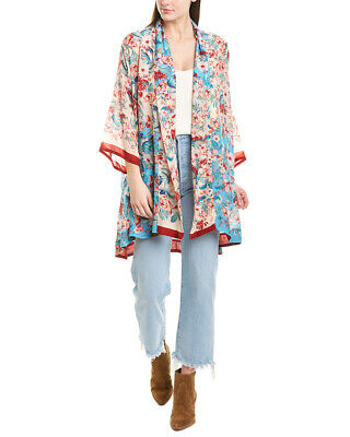 $149.99 • Buy Johnny Was Kimono Women's White Xl