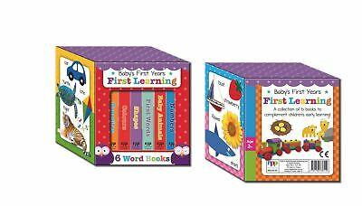 £8 • Buy Baby's First Years - First Learning Mini Board Books