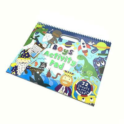 £10 • Buy Boys Large 32 Sheet Activity Pad With Stickers