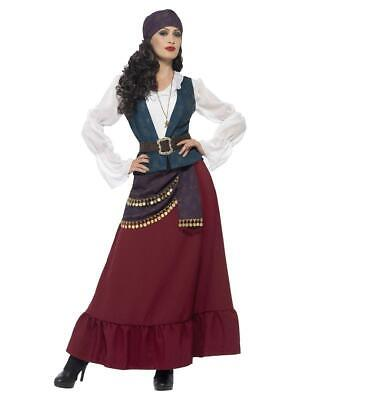 Adult Deluxe Pirate Buccaneer Beauty Wench Seven Seas Fancy Dress Party Costume • 31.69£