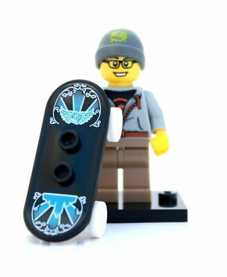 Lego Minifigure Series 4 Street Skater Skateboard Guy -complete Unused • 4.49£