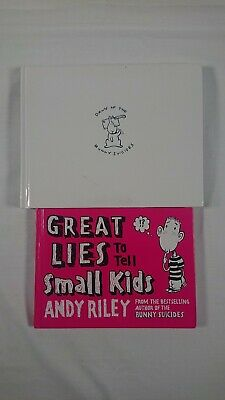 £4.99 • Buy Dawn Of The Bunny Suicides/Great Lies To Tell Small Kids -Andy Riley -Hardbacks
