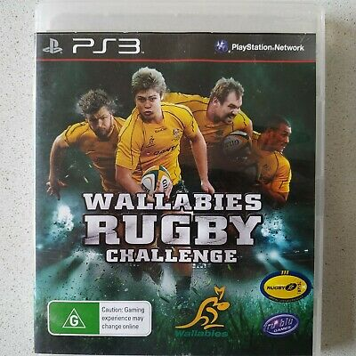 AU5.95 • Buy PS3 Wallabies Rugby Challenge Game Free Postage 🎮🕹