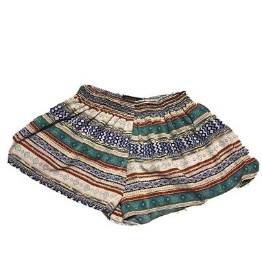 $13.50 • Buy Womens Clothing Hippie Bohemian Cute Chic Flare Shorts Living Doll