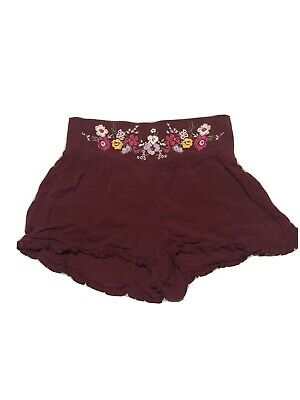 $7.60 • Buy Womens Clothing Hippie Bohemian Cute Chic Shorts Mossimo