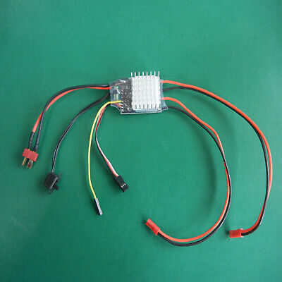 £12.98 • Buy For RC Model Boat 380 550 775 Motors 20Ax2 Speed Controller Two Way Brushed ESC