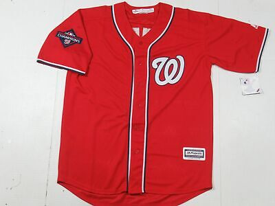 $44.99 • Buy Anthony Rendon #6 Washington Nationals 2019 World Series Champions Jersey Red