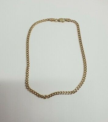 AU299 • Buy Genuine 9ct Solid Yellow Gold Bracelet 5 Grams