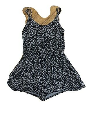 $10.70 • Buy Womens Clothing Chic Hippie Bohemian Summer Romper H&M