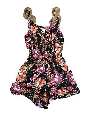 $11.70 • Buy Womens Clothing Chic Hippie Bohemian Summer Romper Mossimo