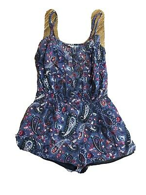 $10.30 • Buy Womens Clothing Hippie Bohemian Chic Summer Romper American Eagle
