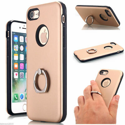 AU5.95 • Buy Slim Finger Ring Mount Holder Stand Case Tough Cover - IPhone 6 6plus 7 8 Plus
