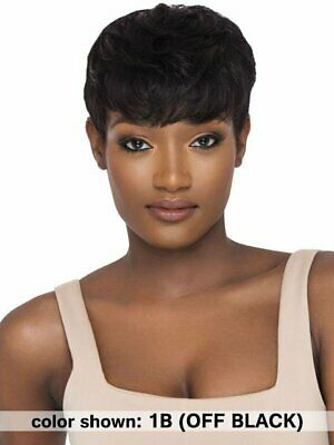 $22.50 • Buy Outre Premium Duby Human Hair Wig - PIXIE MOHAWK