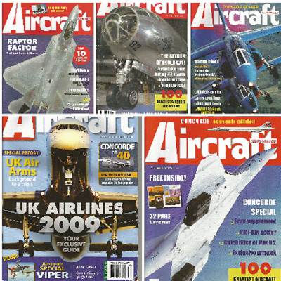 £4.39 • Buy AIRCRAFT ILLUSTRATED 1983 - 2009 Propliner Jet Air Force Airline Plane Select Ed