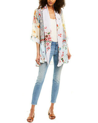 $149.99 • Buy Johnny Was Pastel Floral Silk Kimono Women's