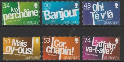 Guernsey 2008 Europa,The Letter MNH (6) • 0.99£