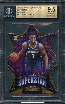 $229.99 • Buy ZION WILLIAMSON 2019-20 Contenders Rookie RC Sp Pelicans Duke BGS 9.5 Superstar