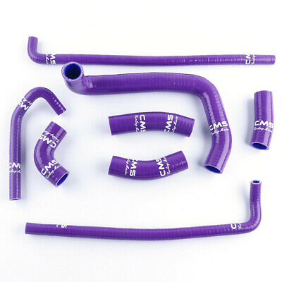 $59.99 • Buy Purple Silicone Radiator Water Hose Kit For Kawasaki ZX7R Ninja ZX-7R 1996-2003