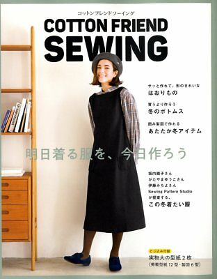 £21.48 • Buy Cotton Friend Sewing Fall And Winter - Japanese Dress Pattern Book