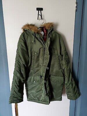 $ CDN100.37 • Buy Alpha Industries N-3b Military Parka XS Sage Green. Used With Tags